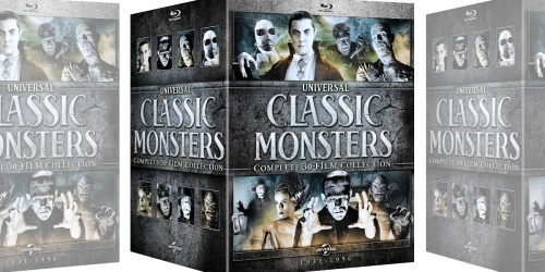 Universal Classic Monsters Complete 30-Film Blu-Ray Collection Only $69.99 Shipped (Regularly $150)