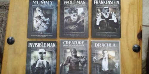 45% Off Universal Monster Legacy Blu-ray Sets on Amazon | The Wolf Man, Dracula & More