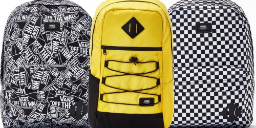 Vans Backpacks as Low as $12 (Regularly $36+) + Free Shipping at PacSun