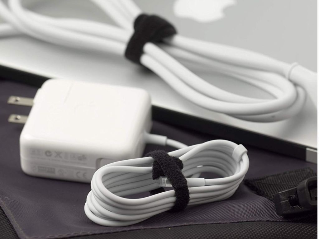 Velcro ties on apple products