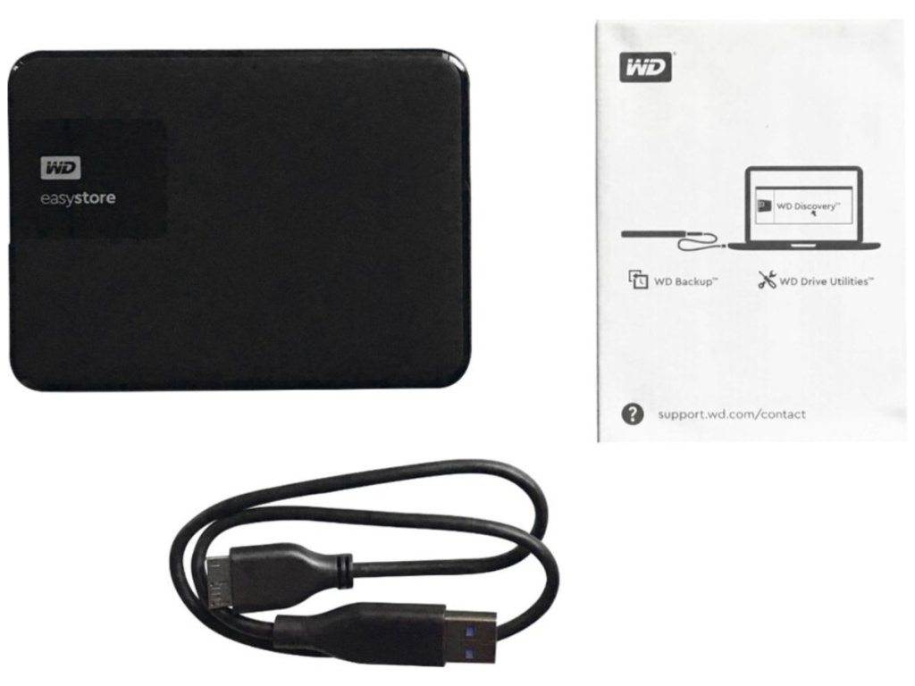 WD Easystore 2TB Portable External Hard Drive (1)