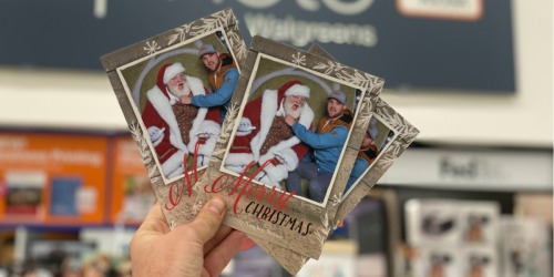 The Best Photo Christmas Card Deals – as Low as Just 23¢ Per Card!