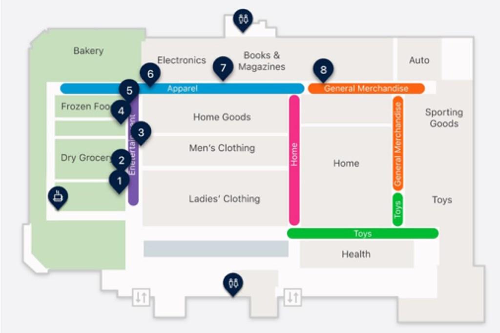 Walmart-interactive-store-map