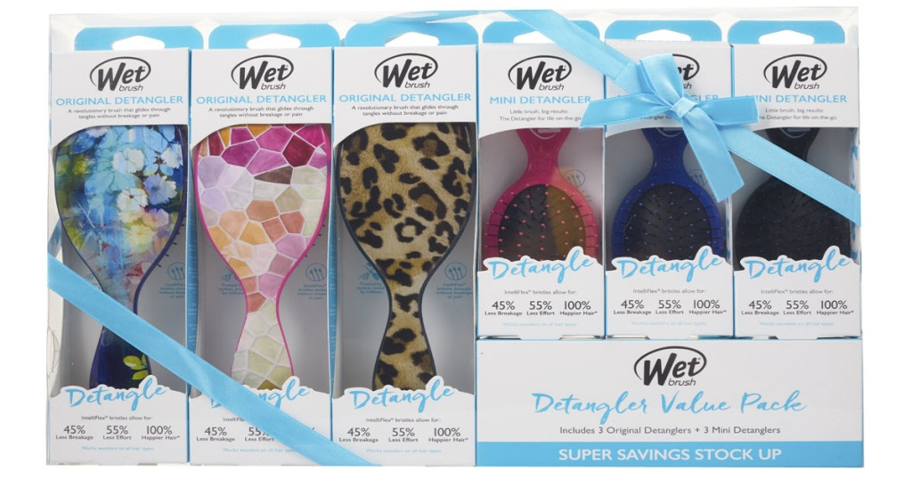 Wet Brush Holiday Set