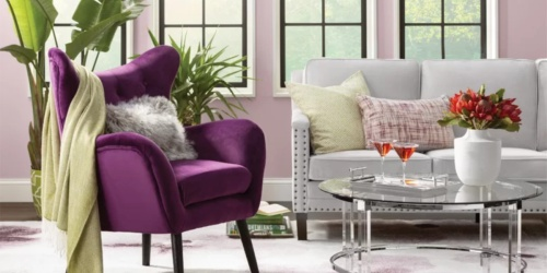 Up to 50% Off Accent Chairs + Free Shipping | Options for Every Decor Style