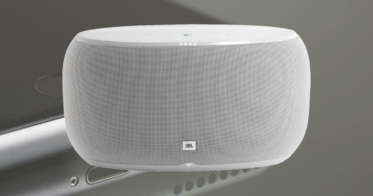 JBL Wireless Speaker in white