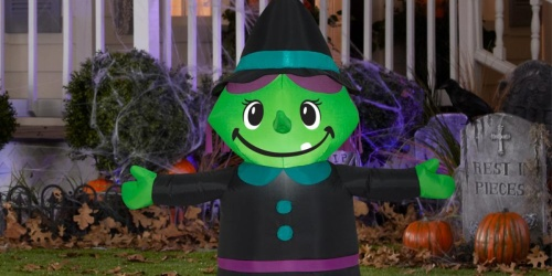 Halloween Inflatables as Low as $7.49 at Home Depot + Free Shipping