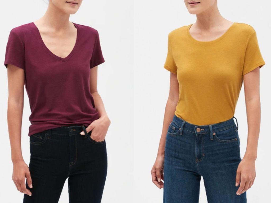 Women's banana republic shirts