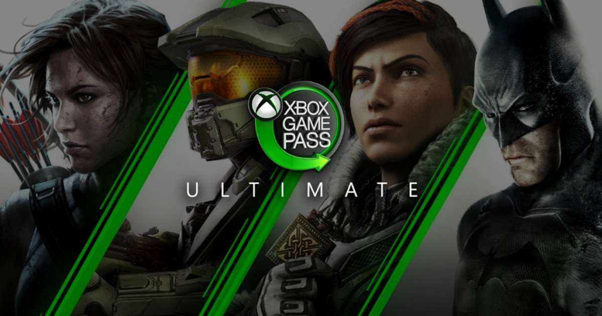xbox ultimate game pass image showing game characters
