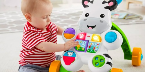 Fisher-Price Learn with Me Zebra Walker as Low as $6.62 at Target.com