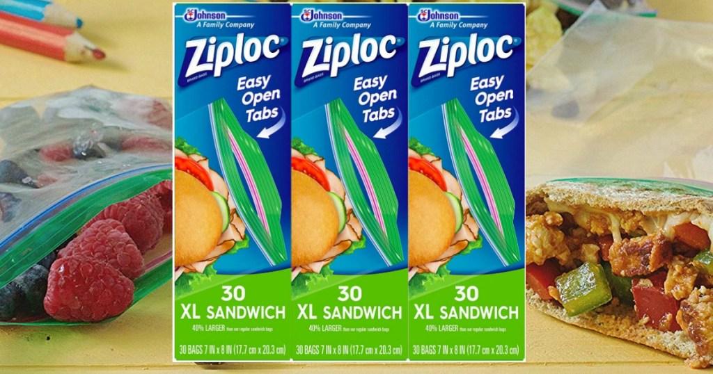 Ziploc XL Sandwich Bags