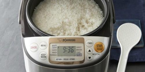 Zojirushi Micom Rice Cooker as Low as $104 Shipped + Get $20 Kohl's Cash