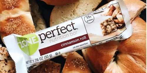 ZonePerfect Nutrition Bars 30-Count as Low as $13.76 Shipped on Amazon | Just 46¢ Each