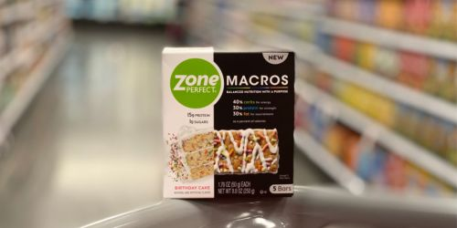 ZonePerfect Macros Bars 5-Count Just $2.84 Each After Cash Back at Target (Regularly $7)