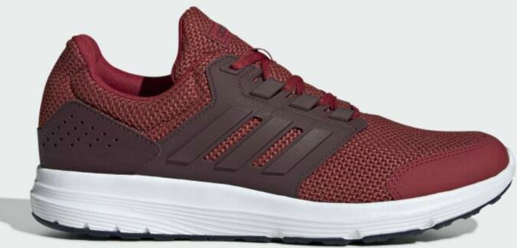 adidas Men's Galaxy 4 Shoes in red