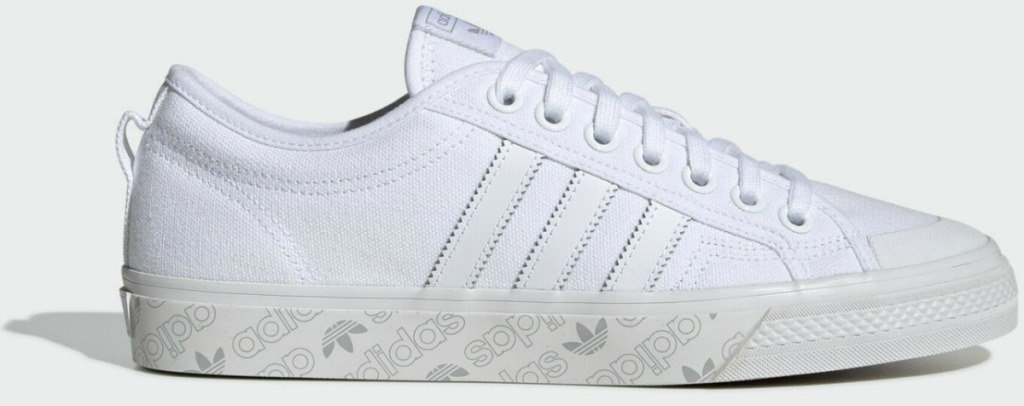 Men's shoe in white from Adidas