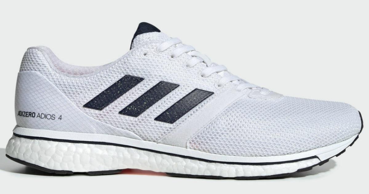 adidas adizero adios 4 mens running shoes stock image