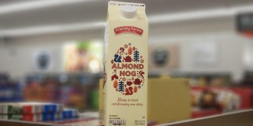 ALDI Has Vegan & Dairy-Free Almond Nog