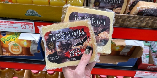 ALDI's Seasonally Spooky Cheeses Are Just What Your Halloween Party Needs