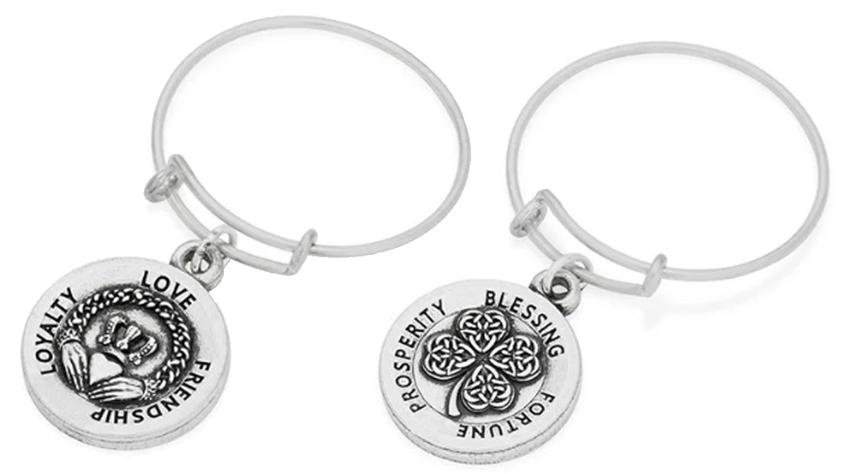 Alex and Ani wire rings