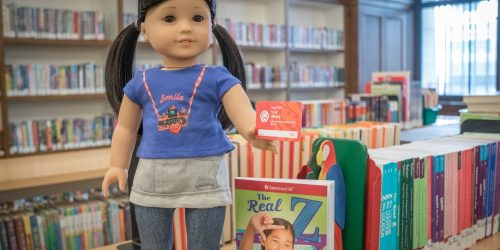 Possibly Rent a Free American Girl Doll with the Lending Program at Your Library