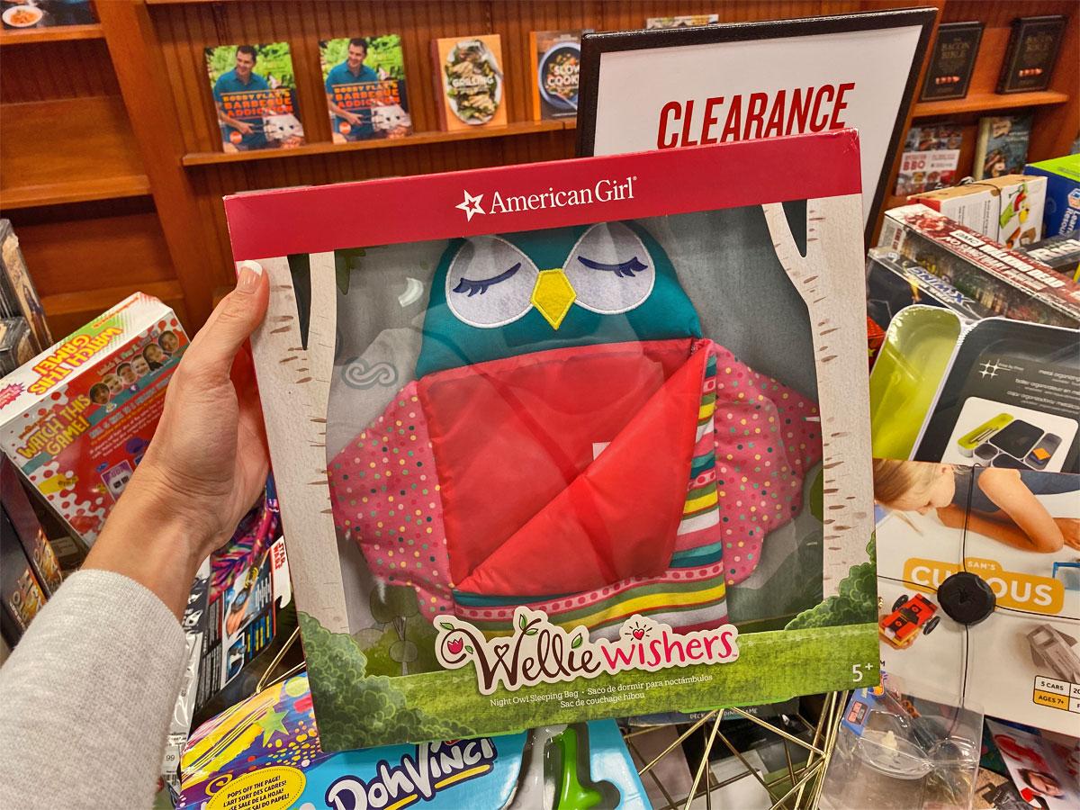 American Girl Wellie Wisher Sleeping Bag Owl