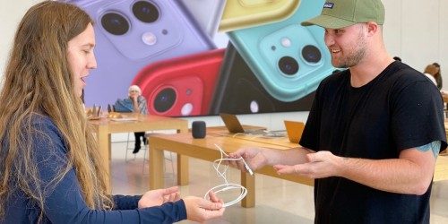 Apple Stores Will Replace Broken Chargers & Electronics for Free, But There's a Catch.