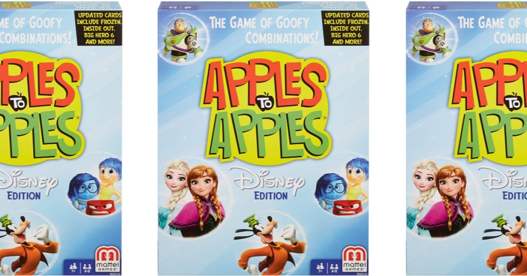 Apples to apples disney card game