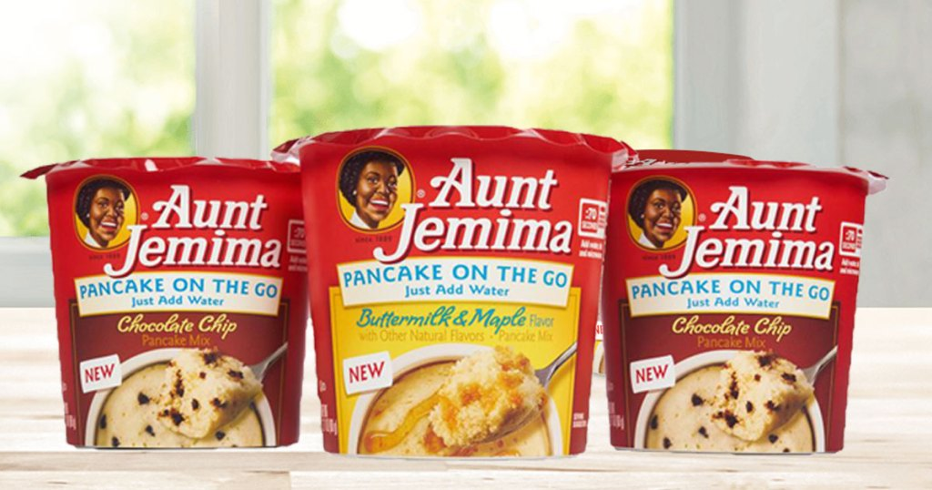 aunt jemima pancake on the go cups