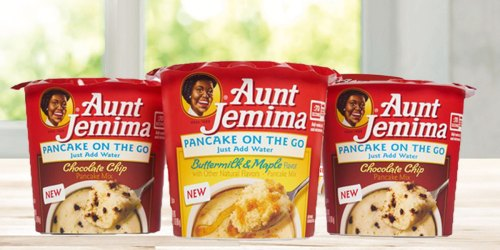 Aunt Jemima Pancake 12-Count Cups Only $11.38 Shipped at Amazon | Just 95¢ Each