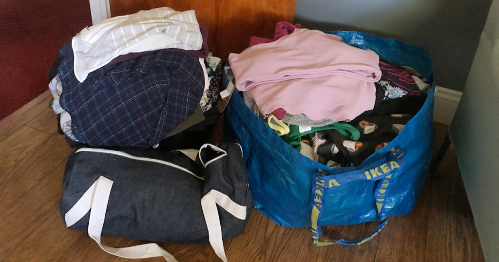bags for clothing swap