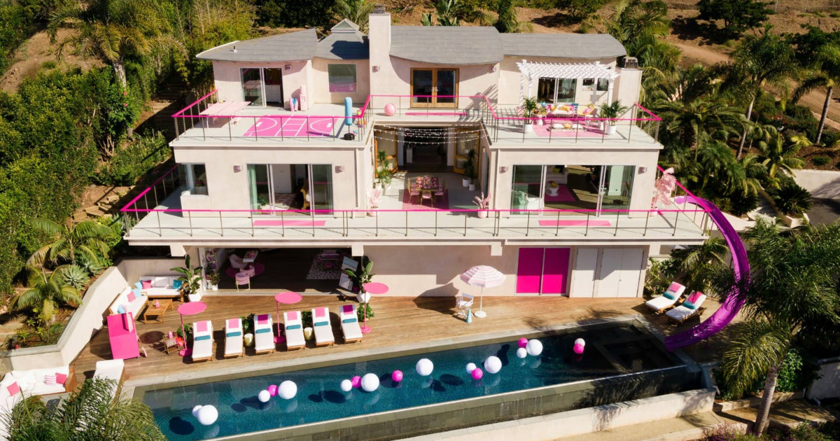 Celebrity Travel: real life Barbie Dreamhouse