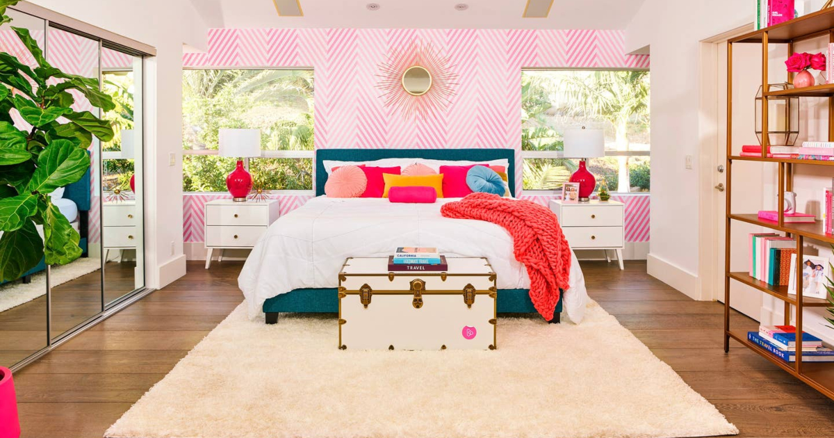 Barbie DreamHouse life-size bedroom