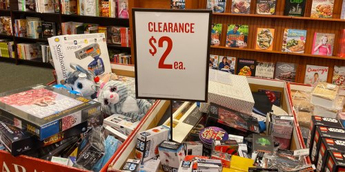 Barnes & Noble $2 Clearance Sale | LEGO, Star Wars, Harry Potter & More
