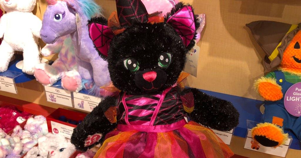 Build a Bear Black Night Kitty