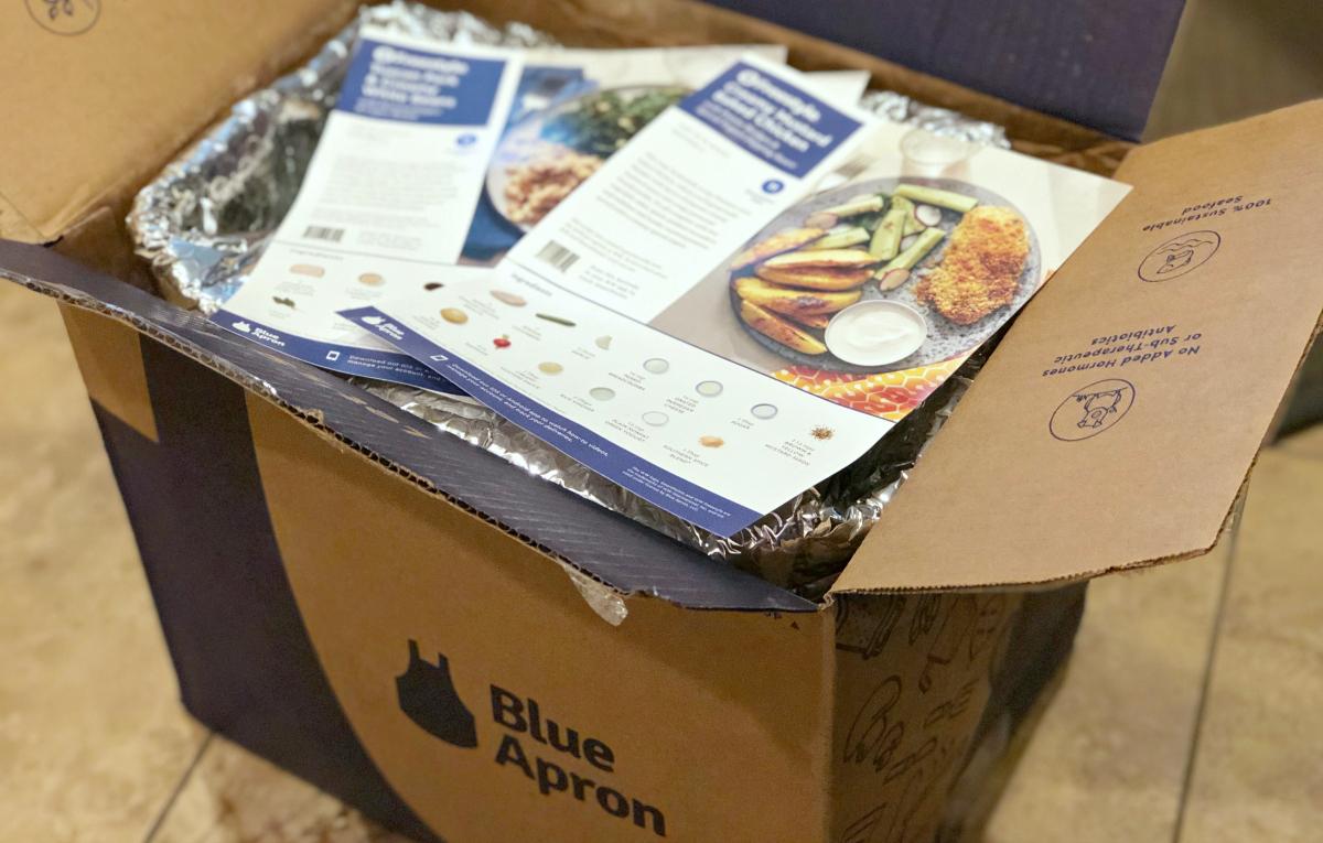 blue apron recipes in box