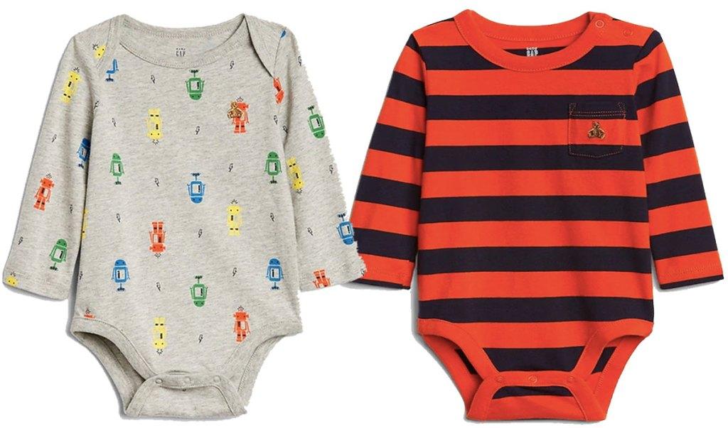 gap baby brannan bodysuits