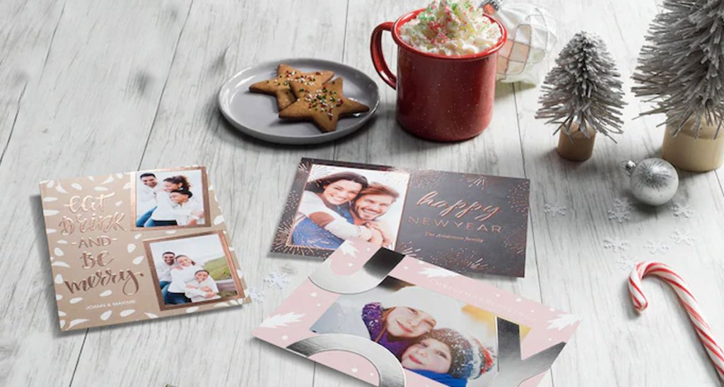 Staples holiday cards through groupon