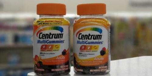 Up to 75% Off Centrum Multivitamins at CVS & Walgreens