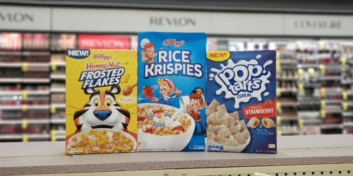 Kellogg's Cereals Just 37¢ After Cash Back at Walgreens | October 20th & 21st Only