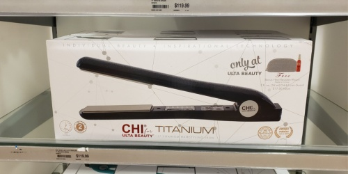 50% Off CHI Hair Care Products, Titanium Flat Irons & More at ULTA