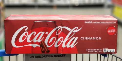 Coca-Cola Cinnamon and Winter Spiced Cranberry Sprite Are in Stores Now