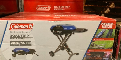 Coleman Portable Gas Grill Only $94.50 at Lowe's (Regularly $219)