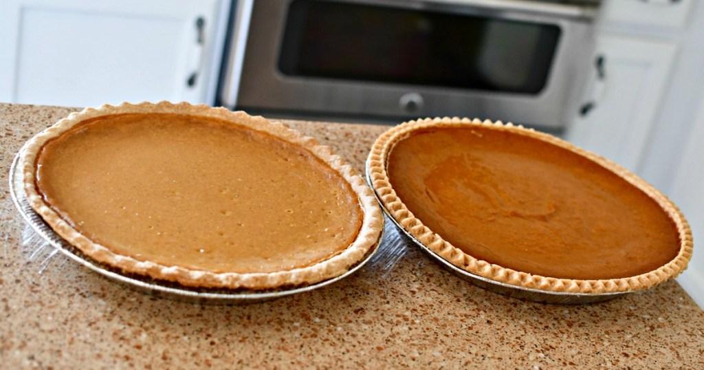 comparing Costco and Sam's Club Pumpkin Pie