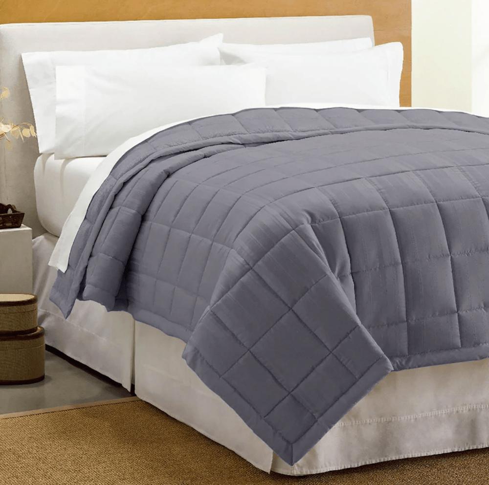 cuddl Duds Gray Blanket