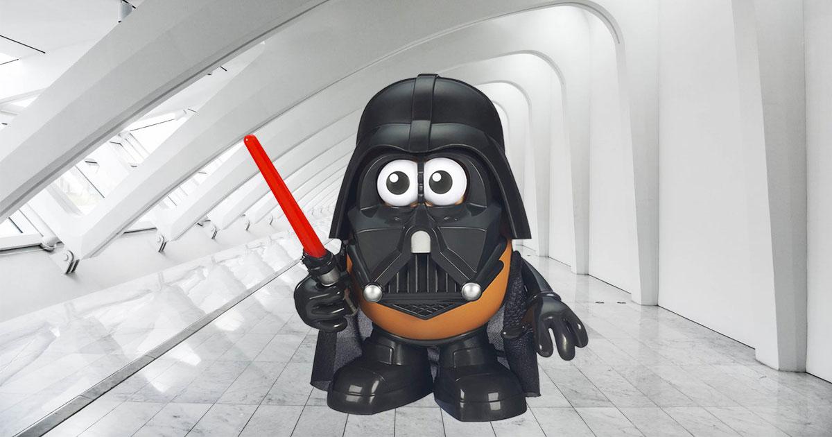 Star Wars Mr. Potato Head Darth Tater toy