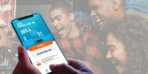 50% Off Dave & Buster's Game Play Purchase w/ App