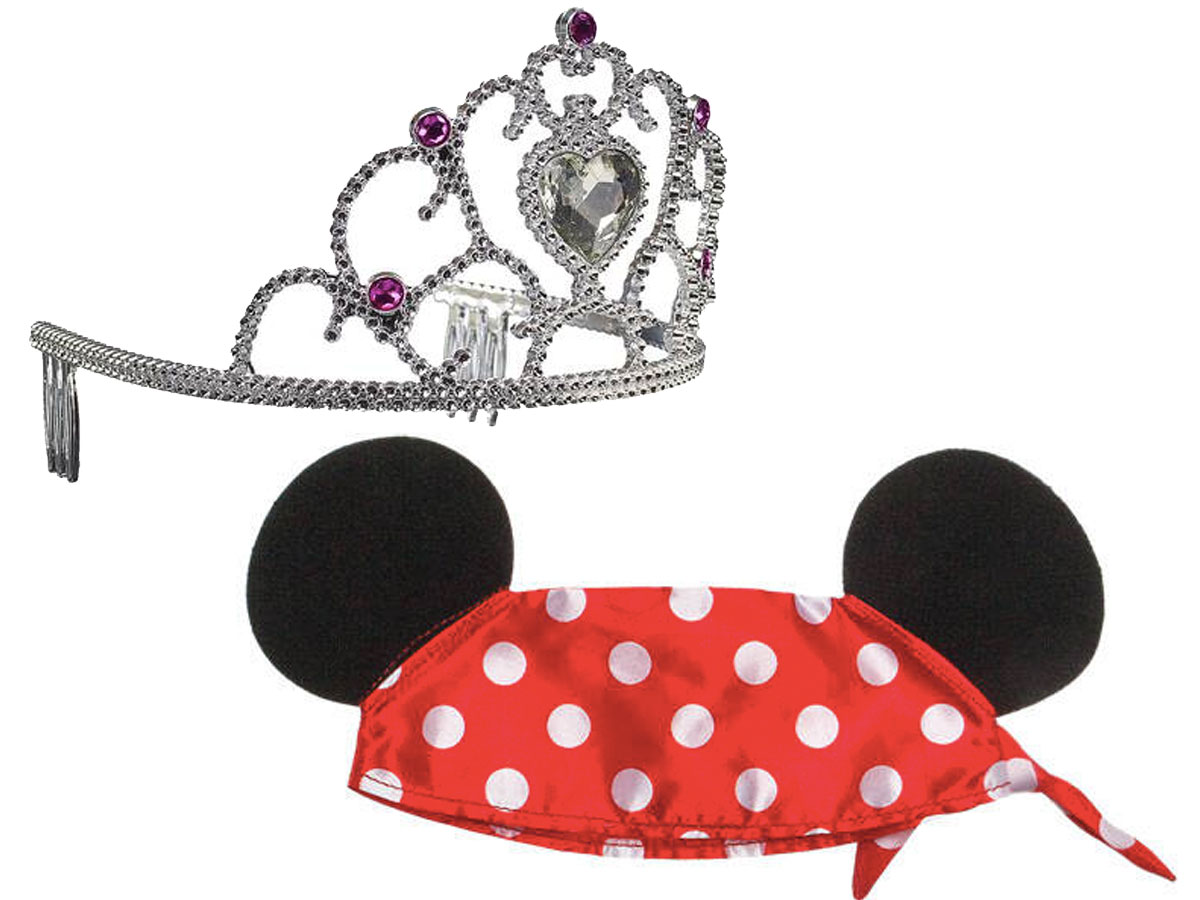 Build a bear crown and mickey mouse ears