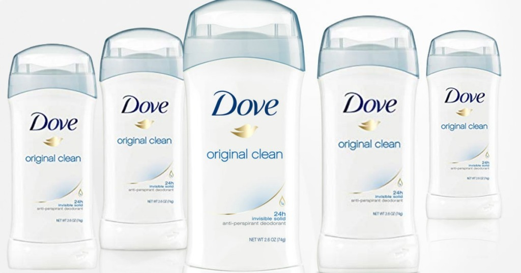 deodorant on white background