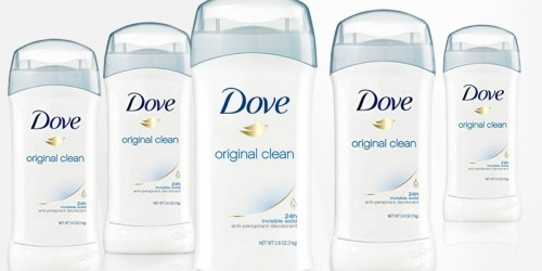 Dove Deodorant 6-Pack Only $10.80 Shipped at Amazon | Just $1.82 Each